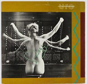UFO Phil Moog Signed Autograph Record Album JSA Vinyl Making Contact