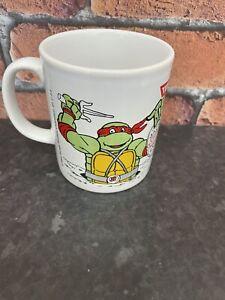 RARE VINTAGE 1990's TMNT COLOROLL MUG Teenage Mutant Ninja Turtles Hero Raphael