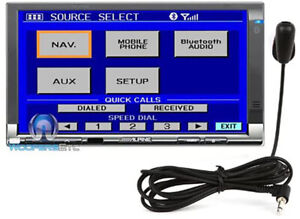"""ALPINE TME-M740BT 7"""" VGA TOUCHSCREEN MONITOR WITH BUILT-IN BLUETOOTH TECHNOLOGY"""