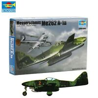 Germany Messerschmitt Me262 A-1a Fighter Plastic Model kit Trumpeter 01319 1:144