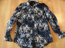 MARC O POLO schöne Bluse weiß blau Blumenmuster organic Gr. 36 NEUw.  PN116
