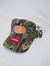 Ladies Mossy Oak Camo Adjustable. Fishing Hunting Hat Cap NWT