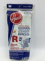 Hoover Type R Vacuum cleaner Replacement Bags 4010063R 1-5pack Hornet Tempo READ