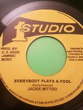 Studio One EVERYBODY PLAYS THE FOOL/Going Home Jackie Mittoo (NEW)