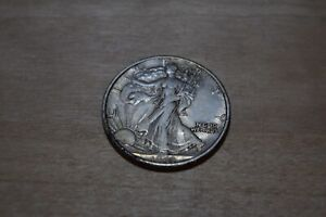 1943-D Walking Liberty Silver Half Dollar US Coin ***FREE SHIPPING***