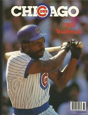 1988 CHICAGO CUBS YEARBOOK MLB