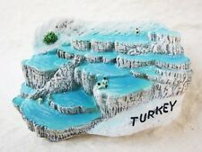 Pamukkale Hot Springs TURKEY Fridge Magnet 3D Resin Souvenir Tourist Holiday