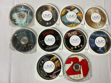 Psp Umd Lot Of 10 Fantastic 4 Hancock Be Cool Termanator 3