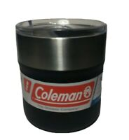 Coleman Sundowner Insulated Stainless Steel Rocks Glass Black 13 oz 2016922 NWT