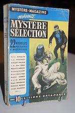 Mystère-Magazine 22 Nouvelles policières et Mystérieuses série 10 OPTA 1951