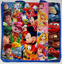 Disney Store Mixed Characters Ecology Reusable Shopping Bag New Tote w/Tag 2013