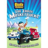 Bob the Builder - Three Musketrucks (DVD, 2008) Factory Sealed New Free Ship