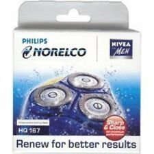 PHILIPS NORELCO HQ167  HQ 167 SHAVING REPLACEMENT HEADS COOL SKIN 6000 SERIES