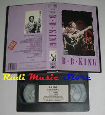 VHS B B KING Live at nick's 1983 UK CASTLE HENDRING HEN 2 053 no cd mc dvd(VM3)