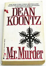 MR. MURDER, Dean Koontz (1996 Paperback) SIGNED