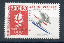 STAMP / TIMBRE FRANCE NEUF N° 2675 ** SPORT / JEUX OLYMPIQUES ALBERVILLE SKI