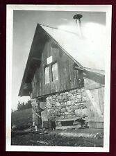 Isère . Le Collet d'Allevard . photo de 1943