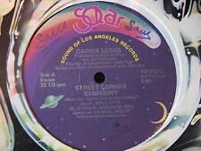 "CARRIE LUCAS-STREET CORNER SYMPHONY. US 12"" SINGLE. DISCO. FUNK. SOUL. 1978. VG"