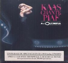 CD de musique live pour chanson française sur coffret