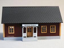 MTH RAILKING ILLUMINATED COUNTRY BINGO HALL O GAUGE trains gambling 30-90466 NEW