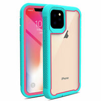 For iPhone 11 Pro Max 2019 Hybrid Rugged Armor Case Dual Layer Heavy Duty Cover