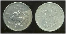 COLOMBIE 10  pesos  1981  ( bis )