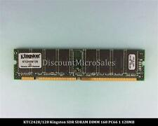 Kingston KTC2428/128 SDRAM 128MB PC-66 Non ECC 66Mhz RAM Memory