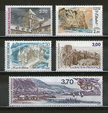 SERIE TOURISTIQUE 2462-2466 NEUF XX LUXE  - SERIE DE 1987