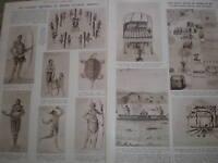 Photo article John White illustrations Virginia USA in 1585 1936 ref AZ