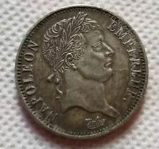 Piece 2 francs Napoléon Empereur 1812 Argent Ecu Monnaie Empire