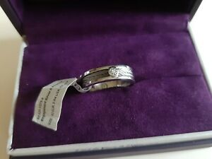 Charriol engagement silver ring size 62(9 3/4)