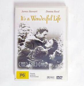 Its a wonderful Life Movie DVD Region 4 AUS Free Postage - Christmas Drama