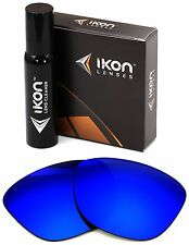 Polarized IKON Iridium Replacement Lenses For Oakley Frogskins Deep Blue