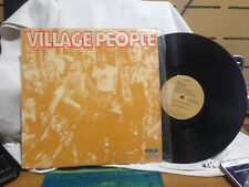 "VILLAGE PEOPLE VINYL LP RECORD 12"" GOLD SLEEVE"