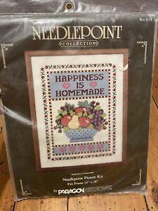 VTG 1985 NIP Paragon Needlecraft Happiness Is Homemade Kit 2173