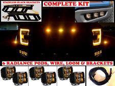 Ford Raptor Rigid Radiance Fog lights light Kit LED F-150 2017 2018 2019 18 17
