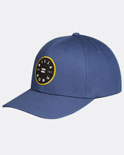 BILLABONG MENS BASEBALL CAP.NEW WALLED SNAPBACK BLUE CURVED PEAK HAT 8S M02 21