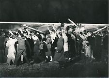 """Film L'Odyssée de LINDBERGH c.1957 - Tournage  """"Le Spirit of St Louis"""" - PR 916"""