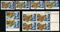 1690 13c 1976 Massive Color Shift Error Lot Block, Pair & Singles 6 Items