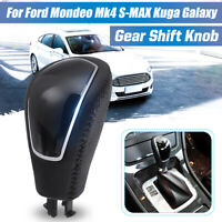 Gear Shift Stick Knob Shifter Automatic AT For Ford Mondeo MK4 S-MAX Kuga Galaxy
