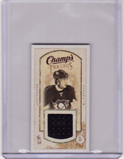 KRISTOPHER LETANG 09/10 CHAMPS CHAMP'S MINI THREADS JERSEY #MT-KL Card Game-Used