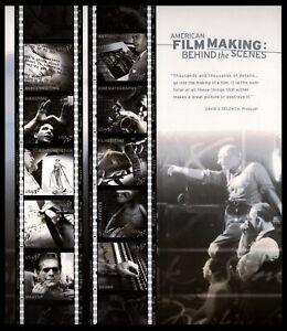 US Scott 3772 Film Making   Full pane of 10 Mint NH  37 Cents