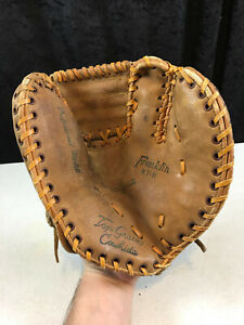 vintage Franklin B 318 Cowhide Adult Small Baseball Glove 1st Base Right Handed