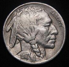 1917-S Buffalo Nickel, Full Horn! AU+