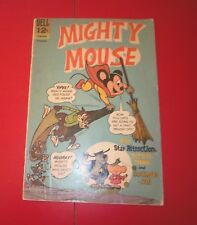 Mighty Mouse #168 Dell Comics  w/ Deputy Dawg / Hashimoto-San  Silver Age 1966