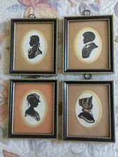 More details for 4 x penny farthing galleries shadow portraits - enid linder 13.5cm x 16cm