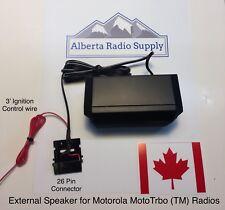 Extension Speaker For Motorola MotoTrbo Radios XPR5550 DM4600 XPR4550 XPR4350