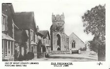 Isle of Wight Postcard - Old Freshwater - Church c1890 - Ref A2086