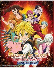 DVD Anime The Seven Deadly Sins Complete Boxset (1-53 End)+2 OVA English Dub/Sub