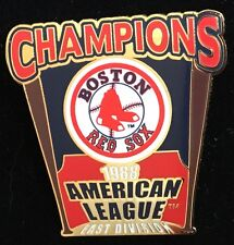 BOSTON RED SOX 1988 AMERICAN LEAGUE CHAMPIONS EAST WILLABEE & WARD  SERIES PIN